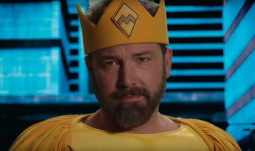 Ben Affleck como superhéroe en el show de Jimmy Kimmel