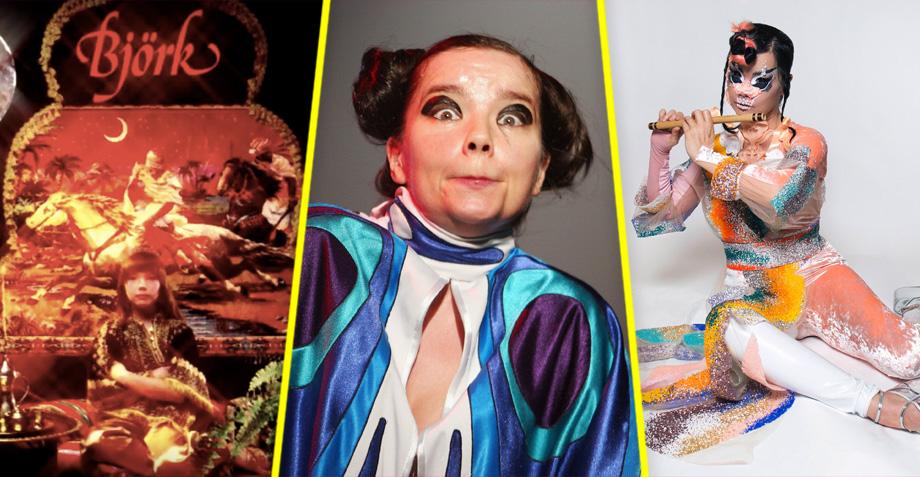 Björk cumple 52 años y te los resumimos en 6 proyectos musicales