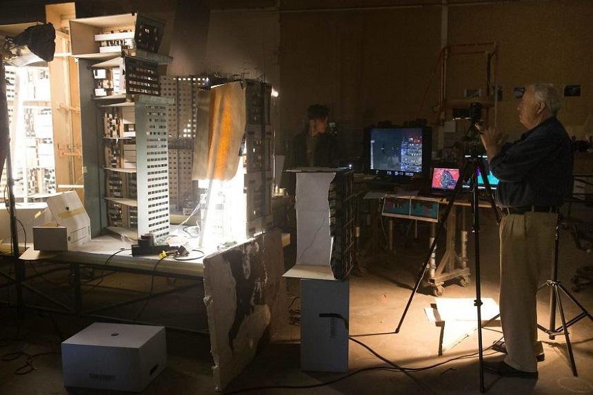 Escenarios miniatura de Blade Runner – Desarrollo