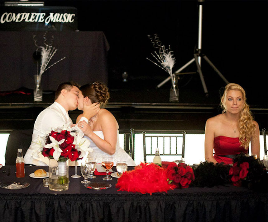 Photobombs de bodas - Momento incómodo
