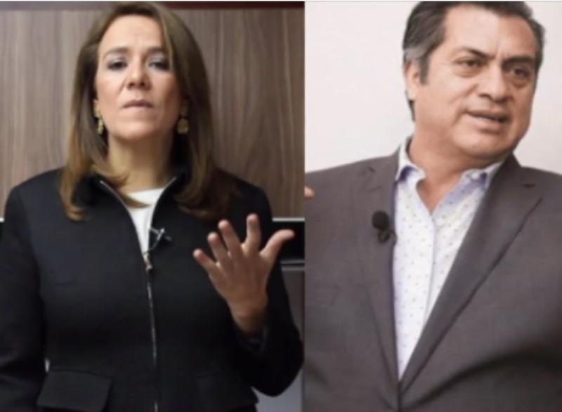 """Margarita Zavala y Jaime Rodríguez Calderón """"El Bronco"""""""