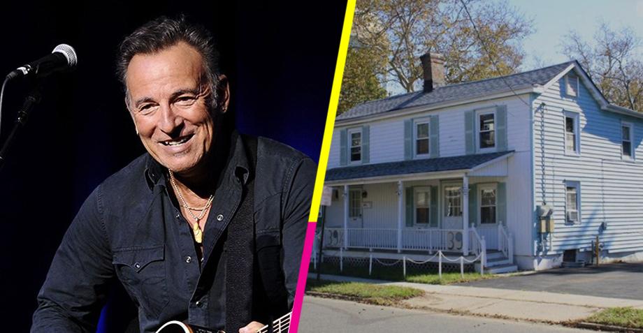 Bruce Springsteen pone a la venta la casa de su infancia por sólo 270K dólares...