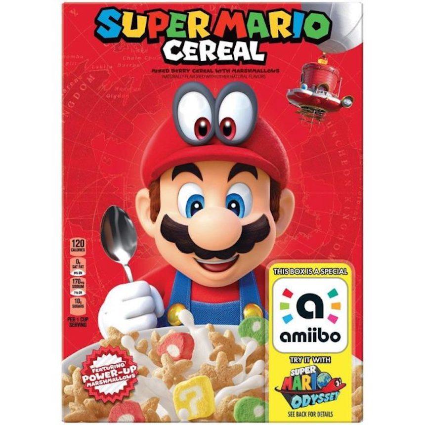 Resultado de imagen para Nintendo comparte detalles sobre el cereal de Super Mario