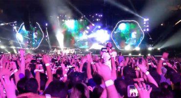 ¿Se acuerdan cuando Coldplay tocó en vivo