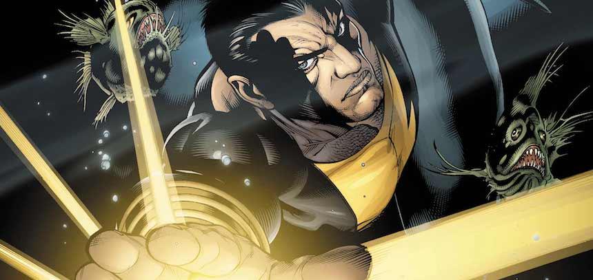 ¡Black Adam podría hacer su debut en Suicide Squad 2!