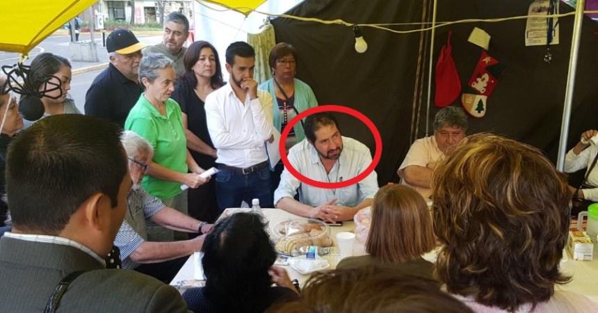 ricardo Becerra, comisionado reconstrucción CDMX