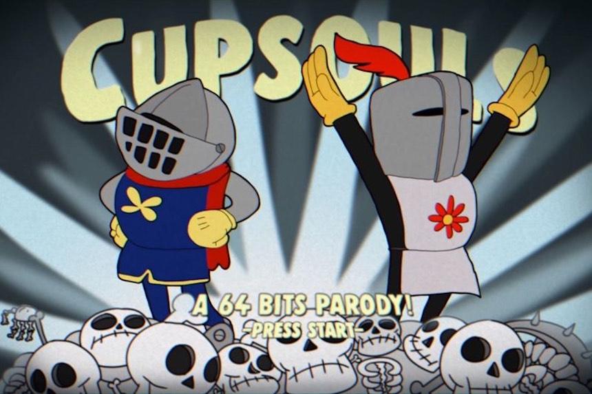 Cupsouls: La increíble parodia de Dark Souls estilo Cuphead