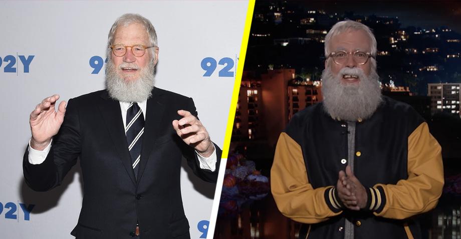 Lo mejor de tu Halloween: Dave Grohl disfrazado de David Letterman