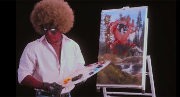 Deadpool se convierte en Bob Ross 🎨 en el teaser Deadpool 2: 'Wet on Wet'