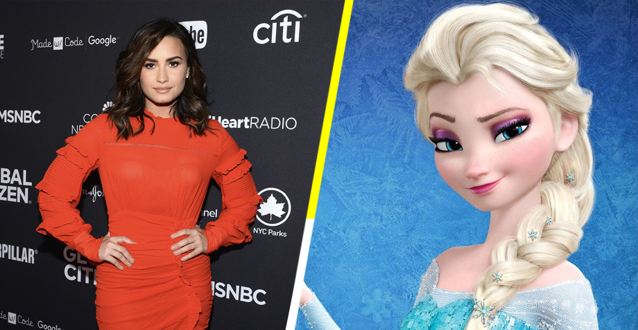 mandan a Demi Lovato y a Disney por plagiar 'Let It Go'