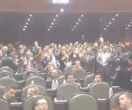 "Diputadas del PRI hacen grito de ""Ehh... puto"" en San Lázaro"