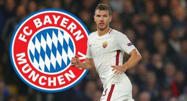 ¿¡Qué!? Edin Dzeko interesa al Bayern Múnich