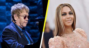 Beyoncé y Elton John ya están trabajando en las nuevas canciones para 'El rey león'