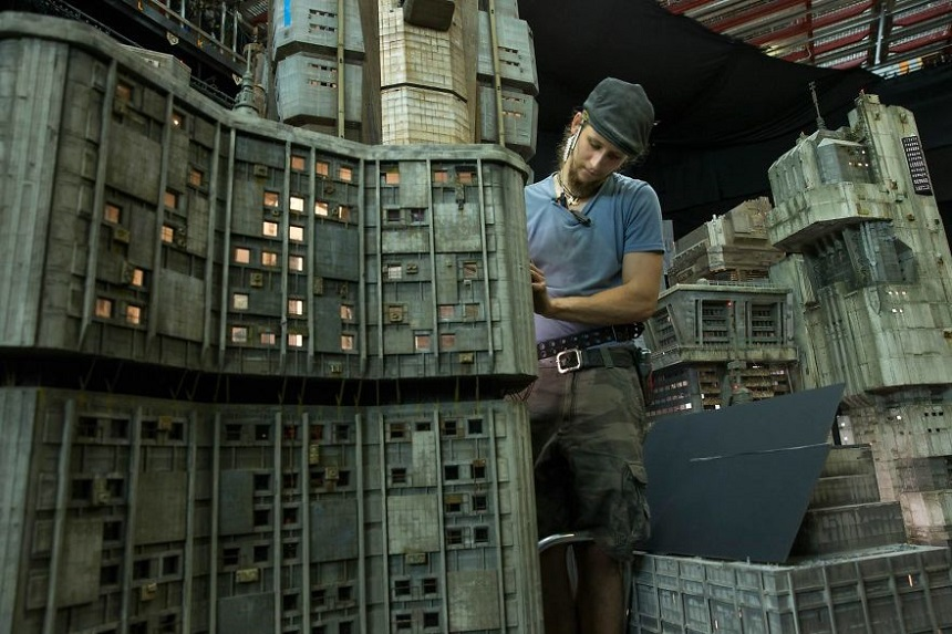 Escenarios miniatura de Blade Runner – Portada