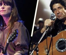 Escucha la versión de estudio de este cover que Feist le hizo a Leonard Cohen