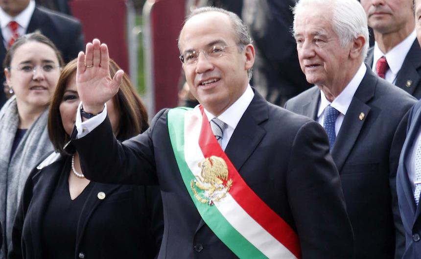 Felipe Calderón Hinojosa, presidente de México