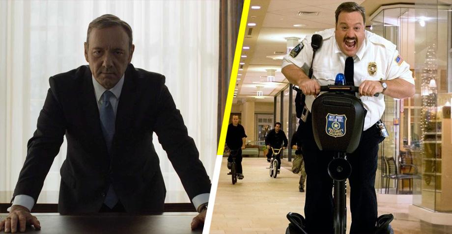 ¡Que alguien me explique! Kevin James como el nuevo Frank Underwood en House of Cards
