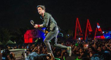 ¡Green Day cerró el Corona Capital 2017 con tremendo fiestón sobre el escenario!