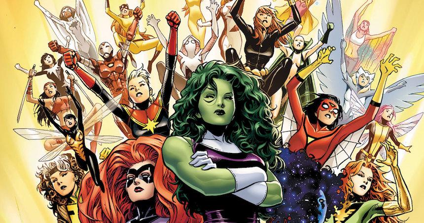Heroínas de Marvel