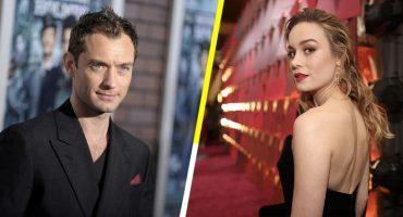 ¡Oh! 😯 Jude Law podría protagonizar 'Capitán Marvel' junto a Brie Larson