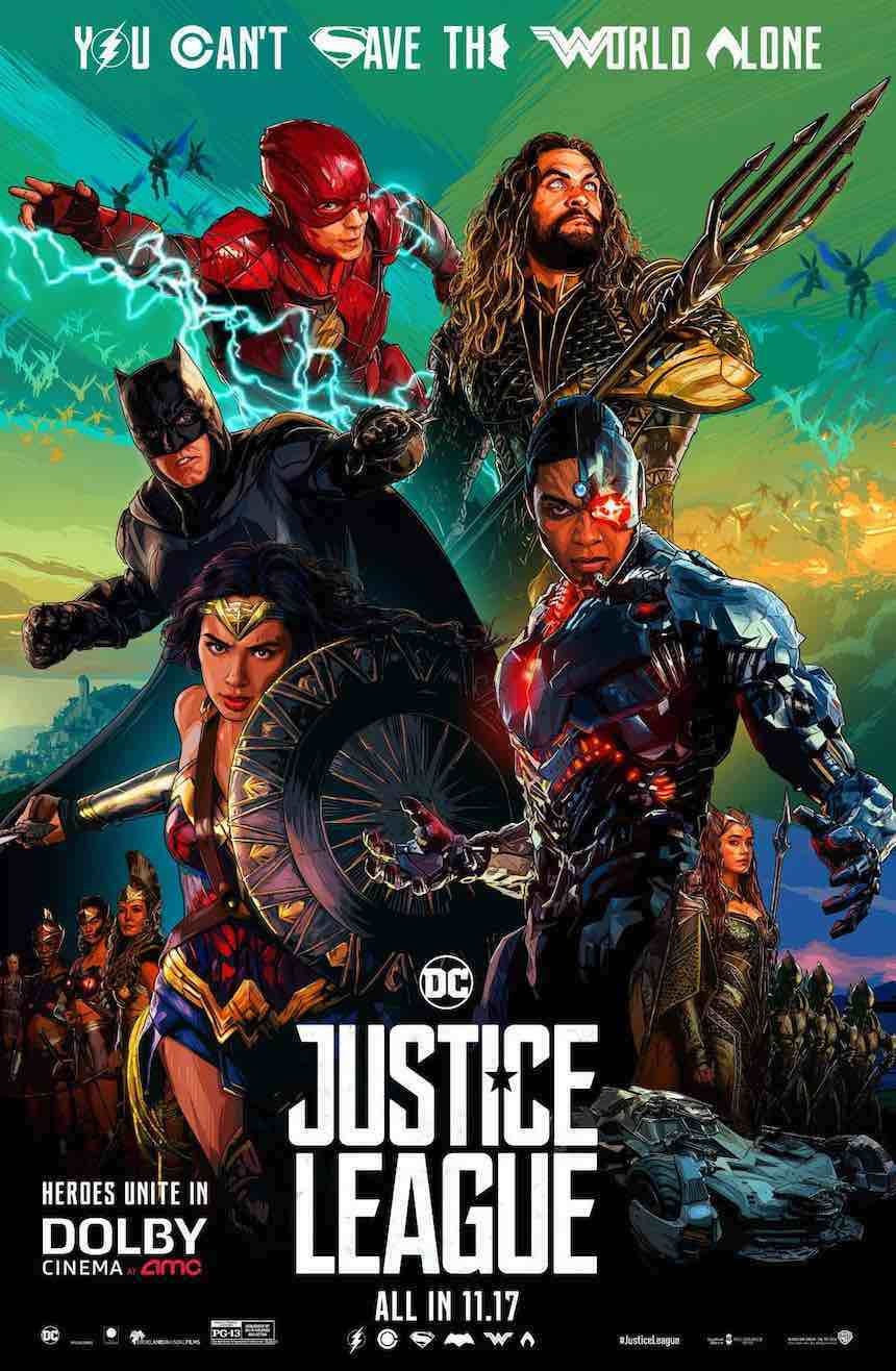 Justice League - Póster