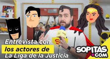 ¡Finalmente! Llega la Liga de la Justicia y platicamos con sus protagonistas! 😎