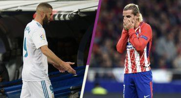 Quién anda peor ¿Karim Benzema o Antoine Griezmann?