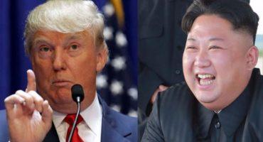 Trump y Kim Jong-un discuten... sobre quién tiene el botón nuclear más grande