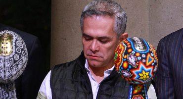 Regalo prenavideño: Mancera no irá por candidatura presidencial... pero se queda en la CDMX