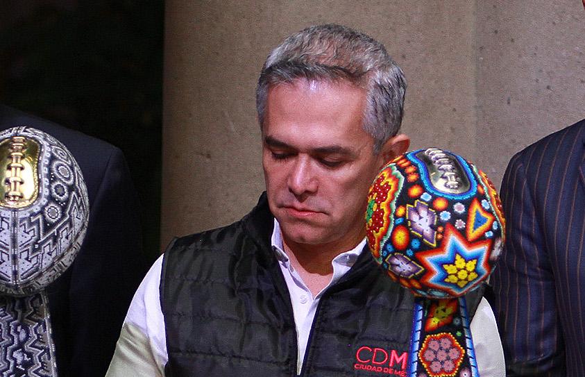Miguel Ángel Mancera Espinosa, jefe de Gobierno de la Ciudad de México