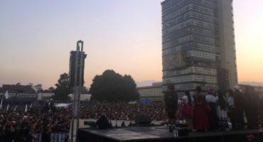 """Marichuy en la UNAM: """"Nuestra lucha no es por el poder, buscamos algo más grande"""""""