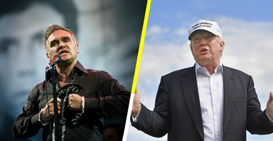 """Morrissey """"mataría"""" a Donald Trump por el bien de la humanidad"""