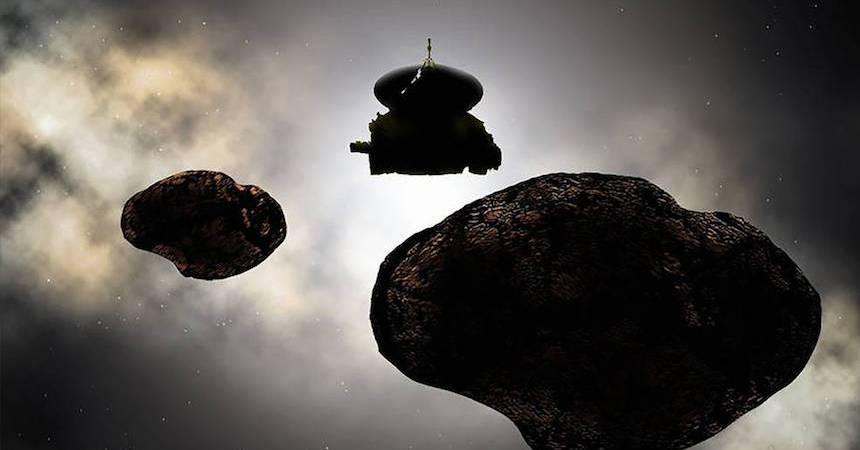 MU69 - Cuerpo espacial