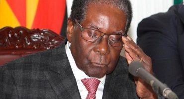 Después de 37 años en el poder, renuncia el presidente de Zimbabue