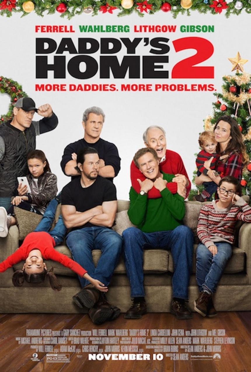 Nuevo póster de Daddy's Home 2