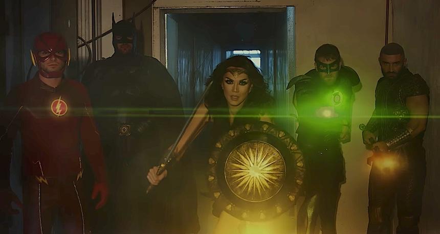 Justice League - Parodia porno
