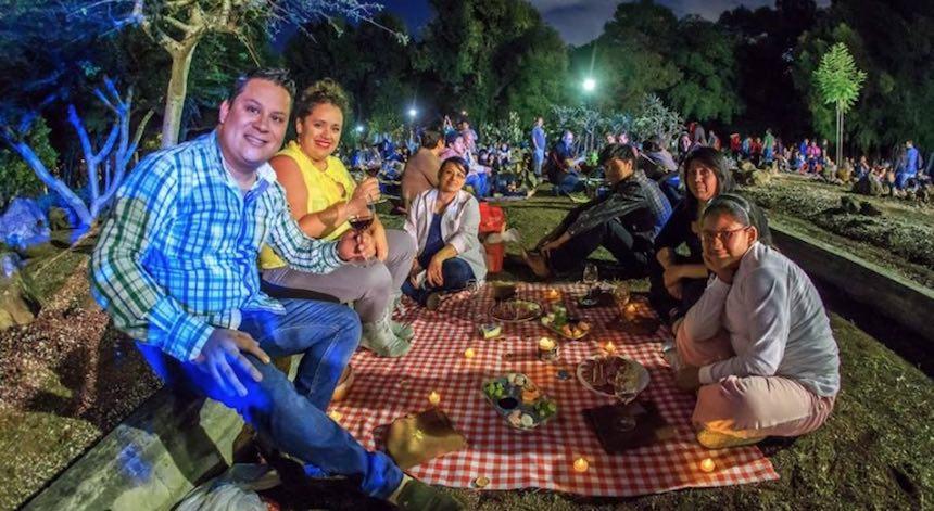 Picnic Nocturno en la Ciudad de México