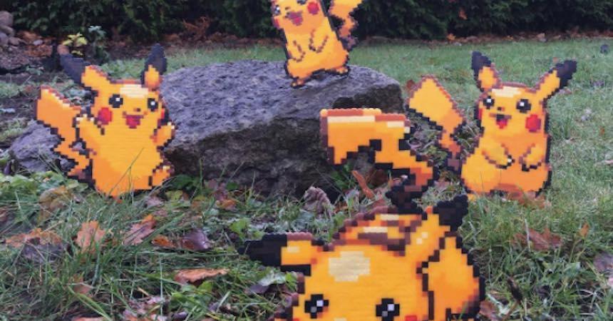Pikachu en el mundo real