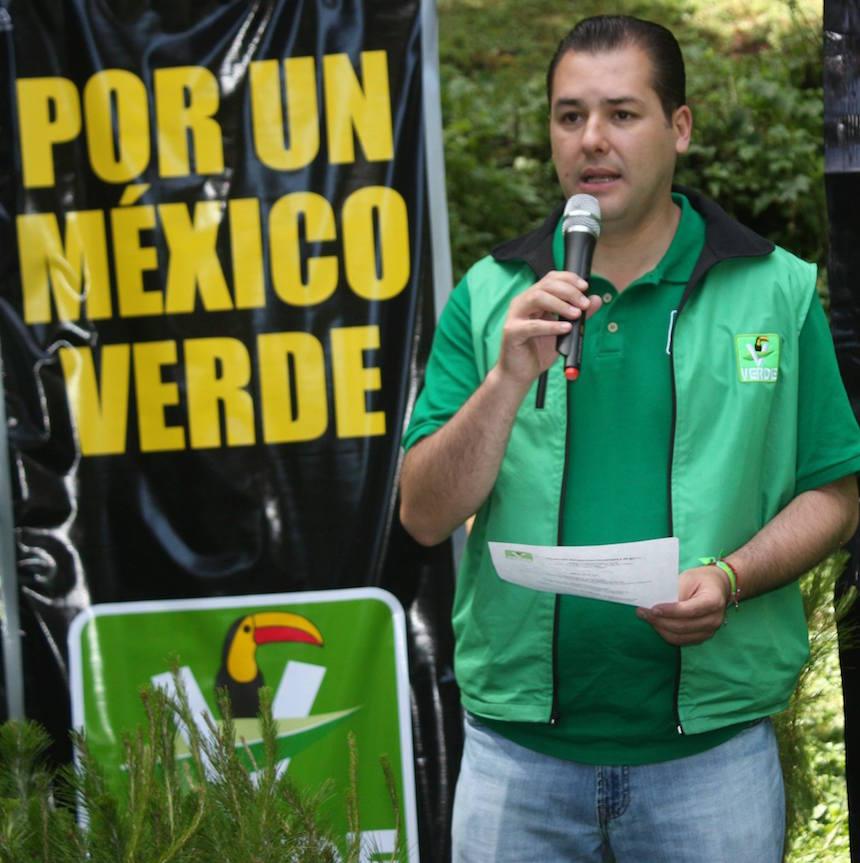 Carlos Madrazo Silva, líder del PVEM