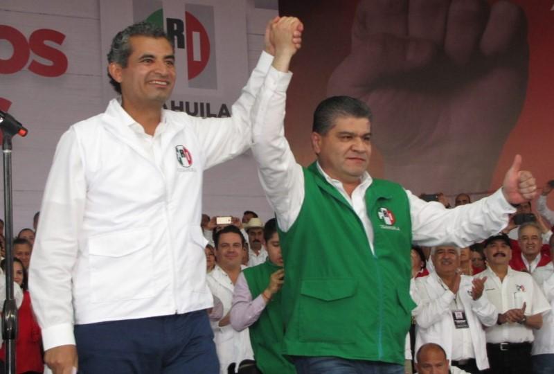 Ochoa Reza y Miguel Ángel Riquelme