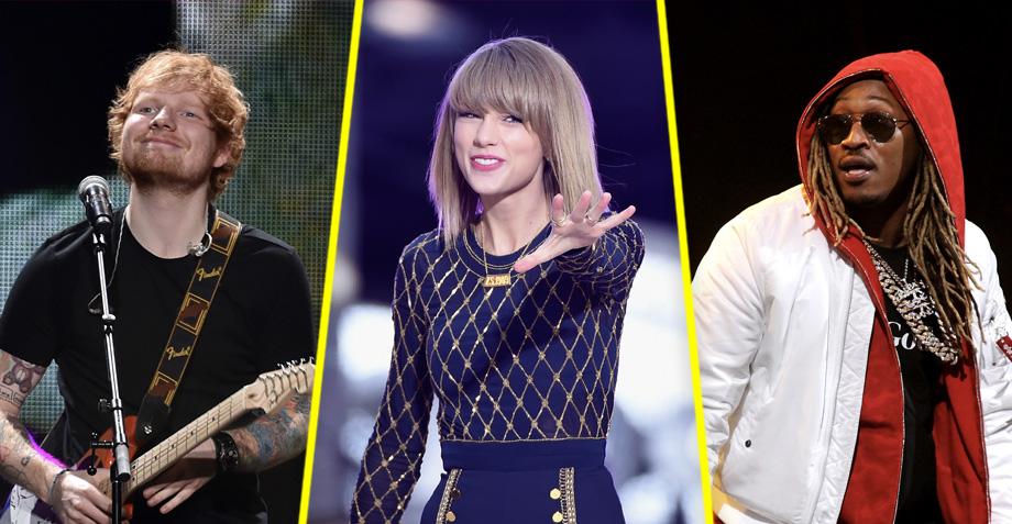 Ed Sheeran y Future aparecen en el nuevo álbum de Taylor Swift