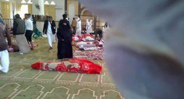 Atentado contra una mezquita en Egipto deja al menos 235 muertos