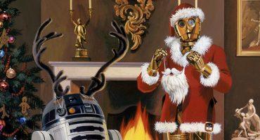 Santa, quiero estos suéteres de Star Wars para Navidad 