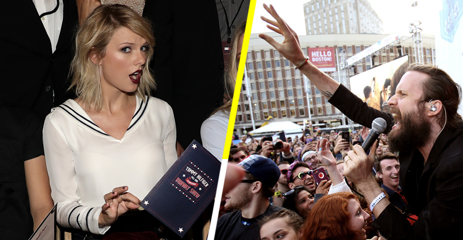 ¡Gracias! Father John Misty trollea a Taylor Swift