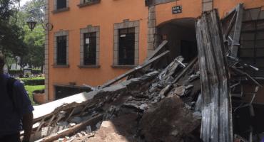 Así quedó el Tec de Monterrey tras el sismo