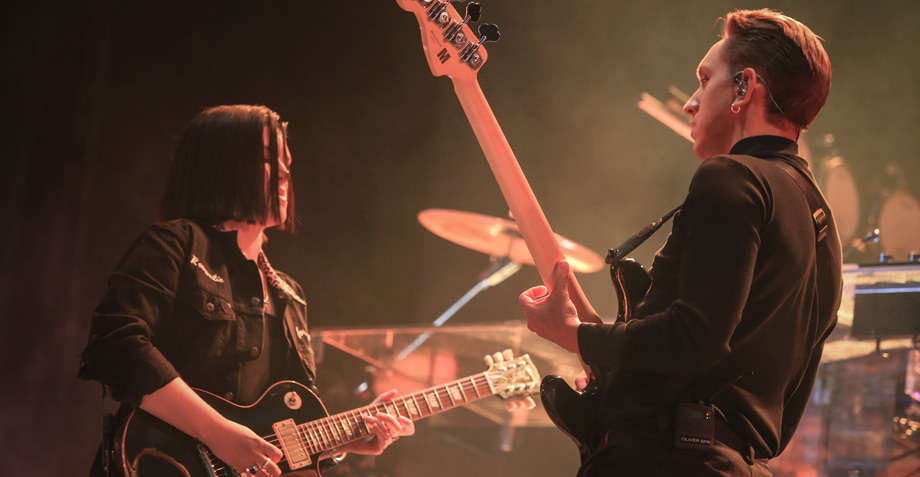 The xx demuestra porqué son los favoritos en los festivales de música