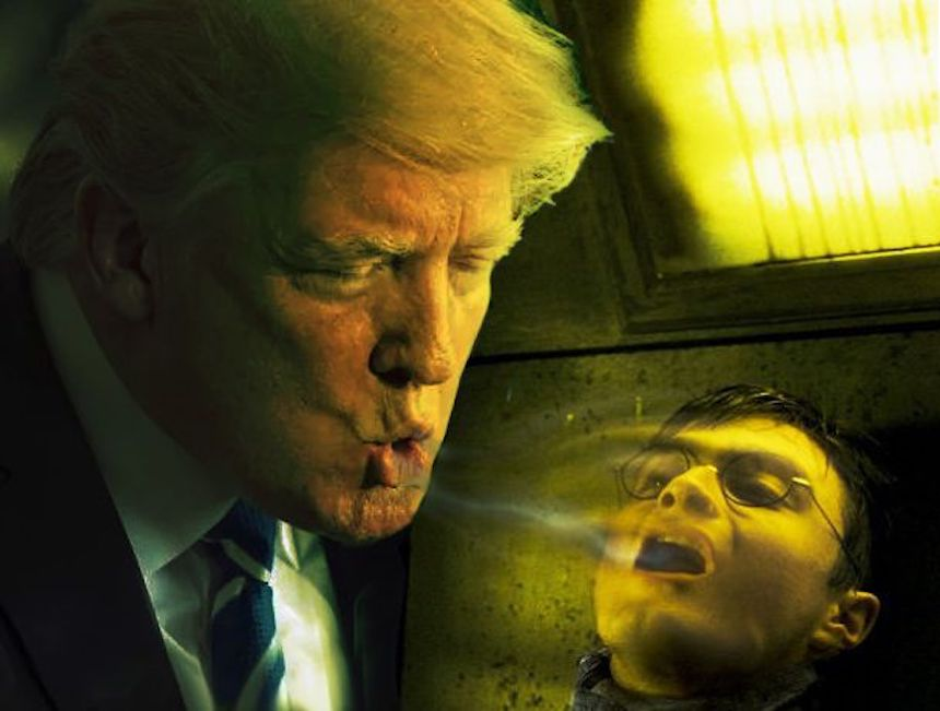 Donald Trump y Photoshop - Dementor