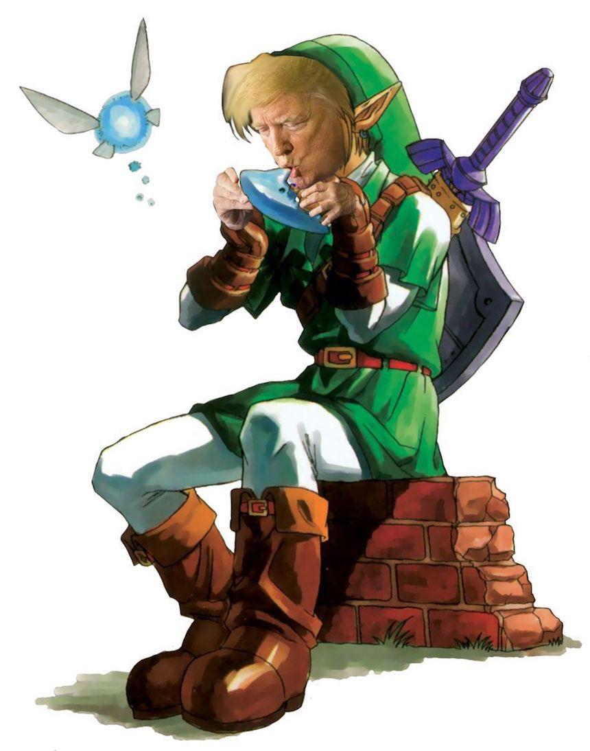 Donald Trump y Photoshop - Link