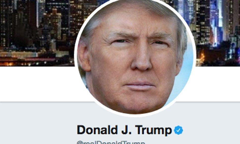 Cuenta Twitter de Donald Trump