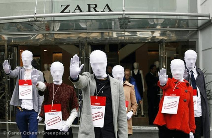 Zara Turquía - Huelga